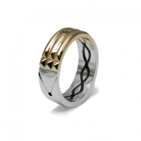 Atlantis Ring in Gold and Silver