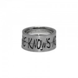 Love Knows No Distance Wedding Rings