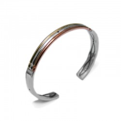 Atlante Bracelet in Gold, Silver and Copper (premium version)