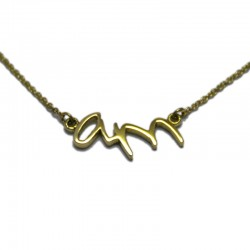 A&M Initial Necklace