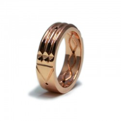 Atlantis Ring in Copper