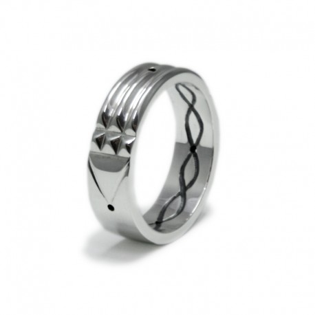 Atlantis Ring in sterling silver