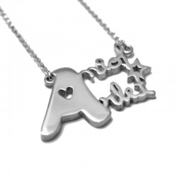 Custom Necklace with Two or Three Names