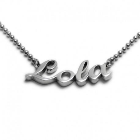 Collar con nombre: Lola