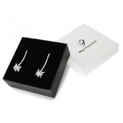 3D Snowflake Earrings