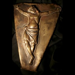 Embossed and Chiseled Christ