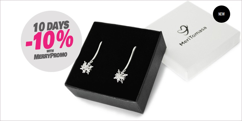 3D Snowflakes in sterling silver... with a new collection promotion!