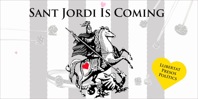 Sant Jordi Is Coming